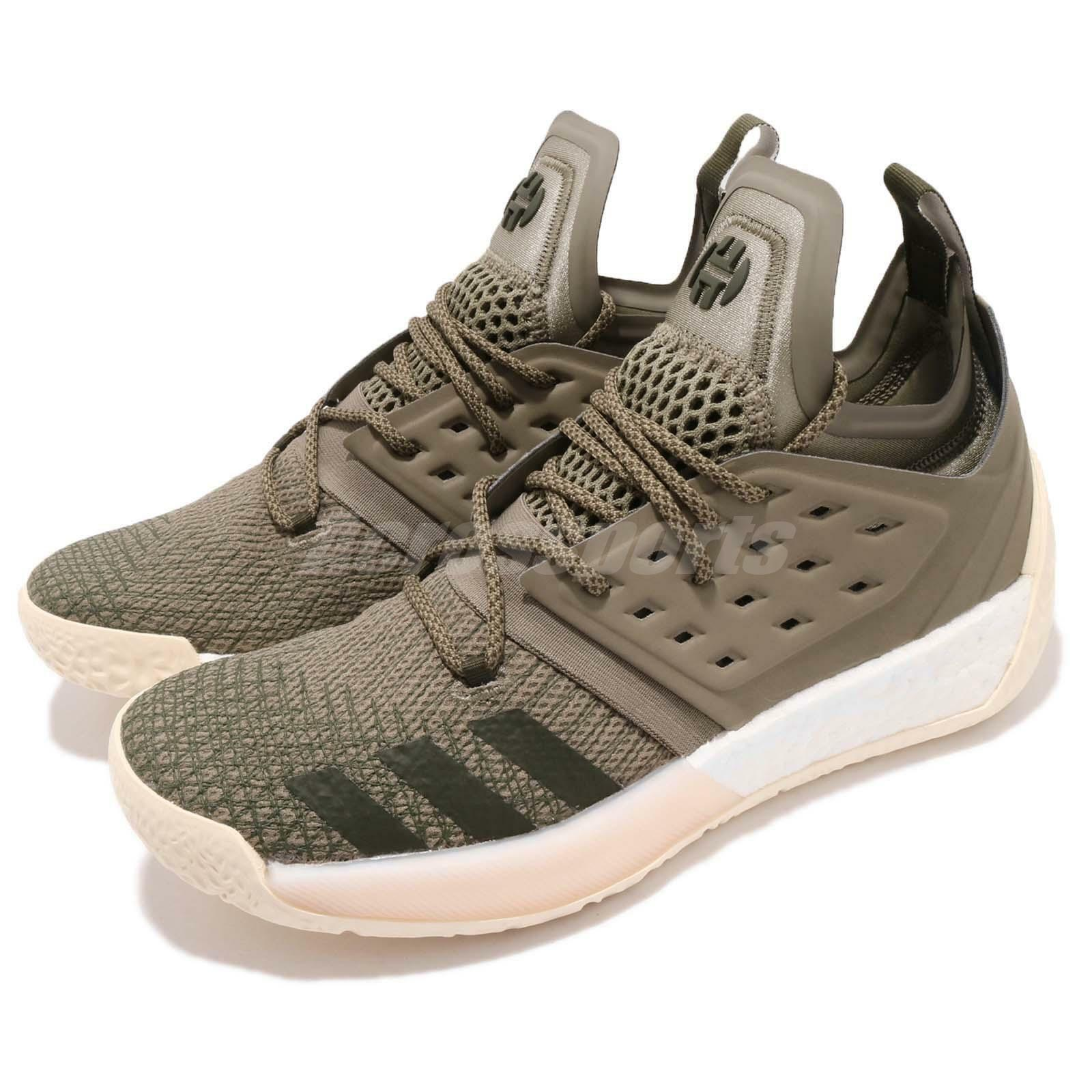 adidas Harden Vol. 2 James Boost Night Shoes Cargo Green Men Basketball Shoes Night AQ0027 f51e7c