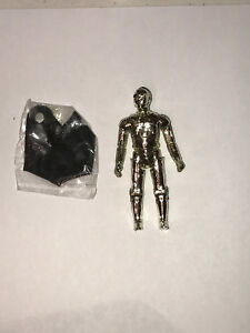 """STAR WARS  C3PO REMOVEABLE LIMBS SILVER VARIANT 1982 LFL  /"""" RARE /"""""""