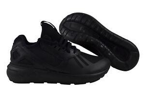 Details zu Adidas Tubular Runner core black unisex Damen Herren Schuhe  schwarz B25089