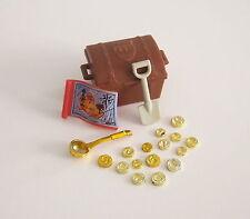 PLAYMOBIL (A2211) PIRATES - Carte, Coffre au Trésor & 15 Pièces d'Or Bateau 3050