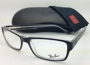1e79fde469 Details about New RAY-BAN Eyeglasses HIGHSTREET RB 5169 2034 54-16 Black    Clear w Demo lenses