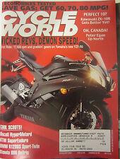 Cycle World Magazine February 2006 Kawasaki ZX-10R Ducati Hyper Motard KTM Super