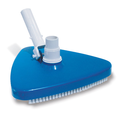 Ruiqas Swimming Pool Suction Vacuum Head Brush Cleaner Above Ground Cleaning Tool. Deep Blue