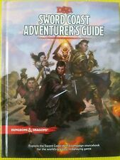 D&D Accessory: Sword Coast Adventurer's Guide by Wizards RPG Team (2015,  Hardcover)