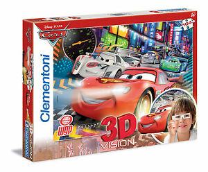 Galleria-farah1970-MADE-IN-ITALY-Puzzle-Clementoni-CARS-3D-104-CLE20044