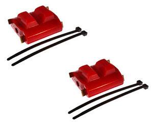 Details about 82-92 350 305 TPI SBC Trans Am Polyurethane Engine Motor  Mounts RED