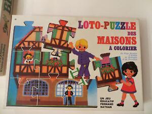 Loto-puzzle-des-maisons-a-colorier-1972-Fernand-Nathan-Cavahel-Vintage