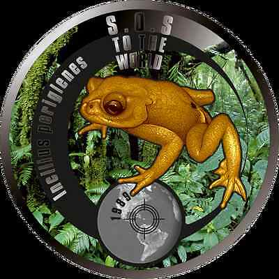 Enthusiastic Niue Island 1$ Dollar S.o.s In The World Frog Rare 2016 Good Companions For Children As Well As Adults Coins & Paper Money
