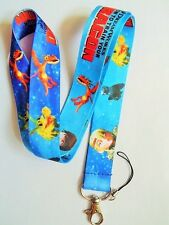 How to Train Your Dragon Lanyard Keychain With Rubber Dangle