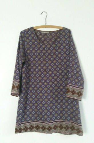 ADDIE Colorful Caftan Dress size Large
