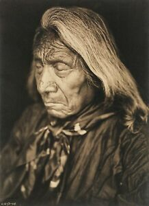 CHIEF-RED-CLOUD-Original-Folio-EDWARD-S-CURTIS-FITS-16X20-FRAME