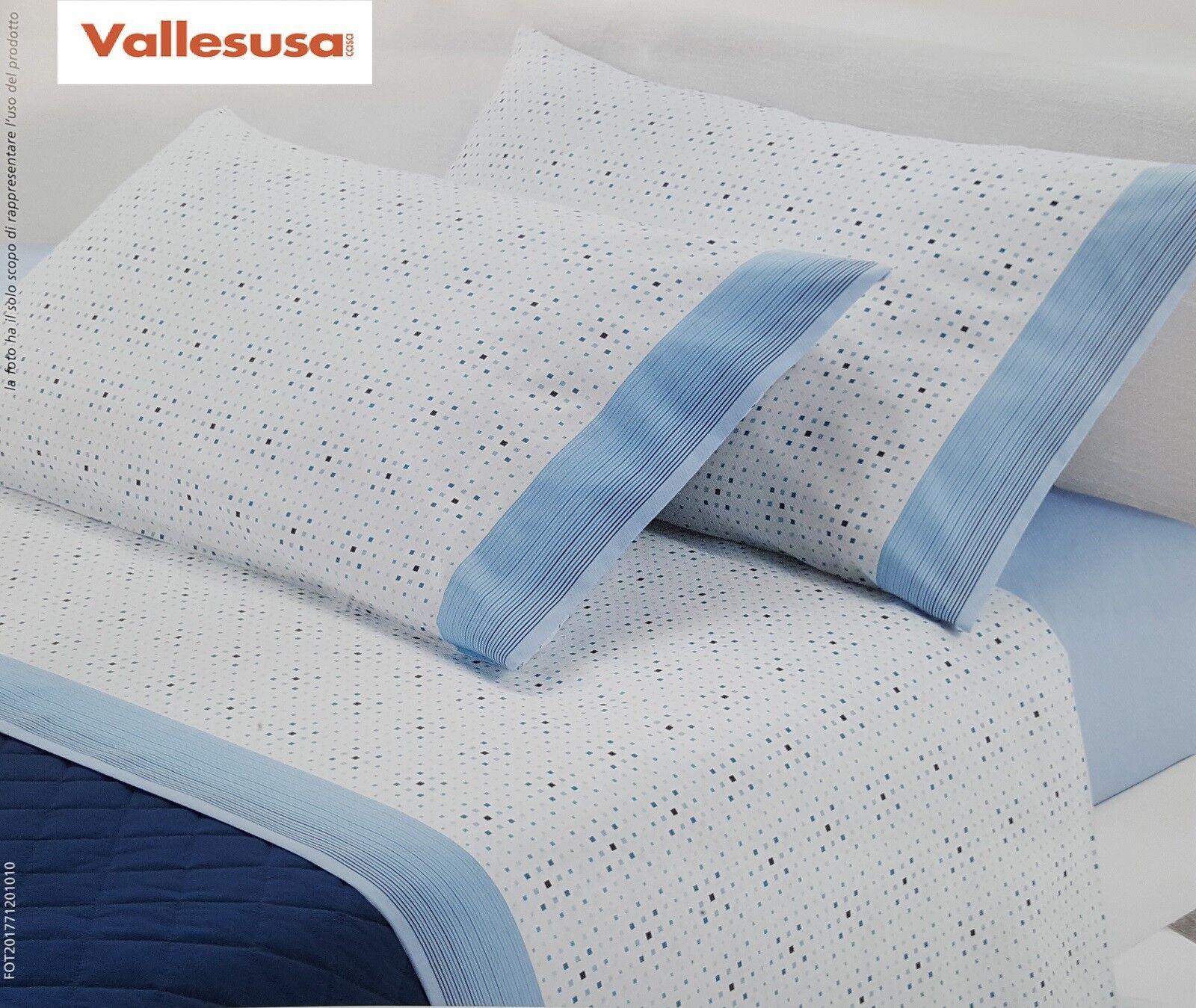Vallesusa. Set Bett Maxi Mirage, Blätter Baumwolle. Hochzeits-, 2,5 Plätze