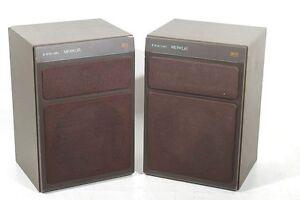 2 alte ddr b 9151 merkur hifi radio lautsprecher speaker. Black Bedroom Furniture Sets. Home Design Ideas
