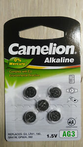 5pcs-AG3-LR41-392-Button-Cell-Coin-Alkaline-Battery-1-5V-Watch-Toy-192-SR41W-G3