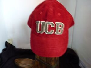UNITED COLORS OF BENETTON GIRLS BOY RED CORD CAP WITH VISOR SIZE M ... 9af69c05e2bc