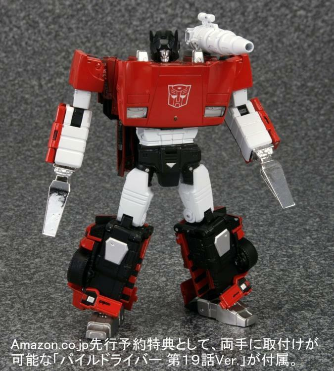 Transformers Masterpiece MP-12 Sideswipe / Lambor Takara JC