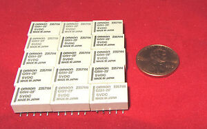 15-pcs-OMRON-G6H-2F-Relay-5V-DC-1A-DPDT-Surface-Mount-125-VAC-Non-Latching-H