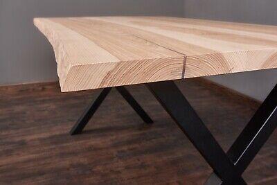 Massivholztisch Esche Tisch Esstisch Holztisch Baumtisch