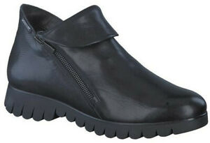 Ladies-Casual-Ankle-Boot-Mephisto-Lou-Black-UK-Size-6-EU-Size-39