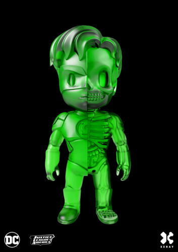 Xxray x DC COMICS-LANTERNA VERDE dissezionato Figura in Vinile ARTE 10cm * Limited Ed *