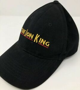 0fd1b673fffde Rare Disney The Lion King on Broadway VIP Dad Hat Baseball Cap Black ...
