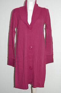 Kleidung & Accessoires 48/50 Neu Pullover & Strick WohltäTig Long-cardigan Berry Gr