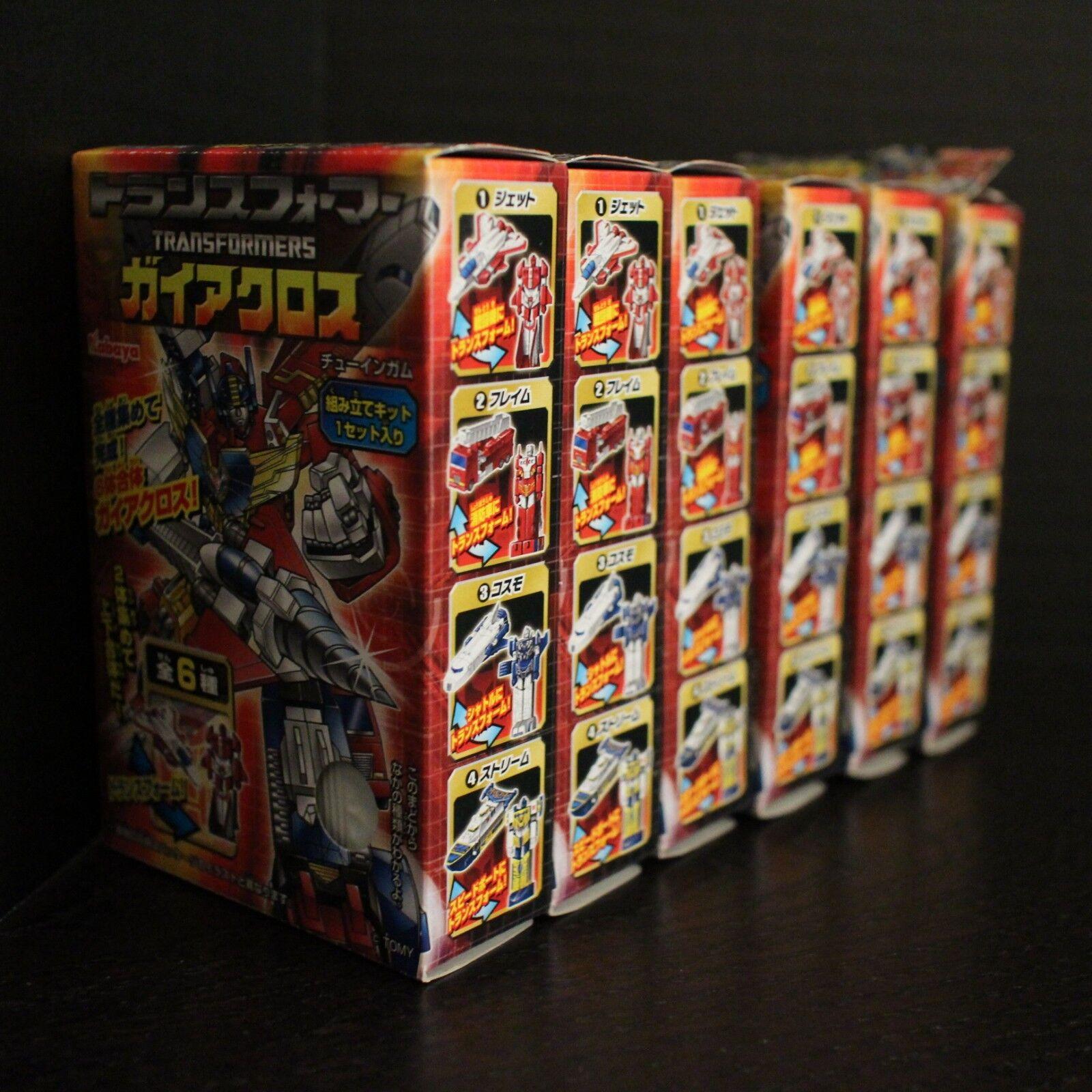 Transformers Kabaya Gaia Tierra Cruzada Gum Combiner Set de 6