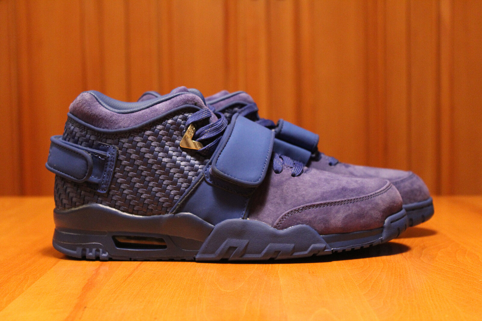 Mens Nike Air Cruz Rush bluee shoes Sz 10 DS