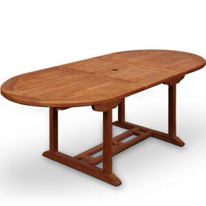 Wooden Garden Dining Table Quot Vanamo Quot 6 Seater Extendable