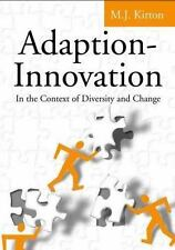 Adaption-Innovation: In the Context of Diversity and Change-ExLibrary