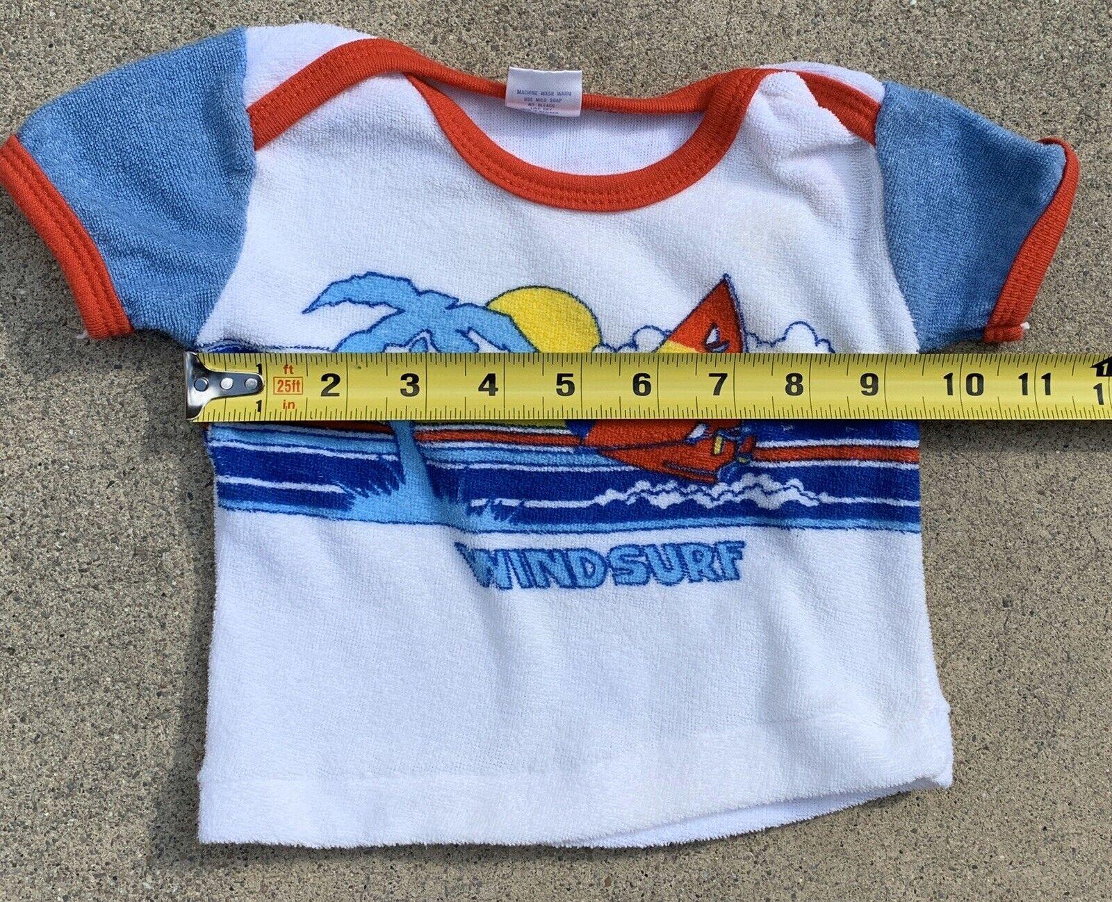 18 Months Judy Philippine Brand 1990 Vintage Baby Sweatsuit