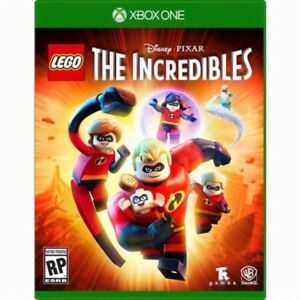 BRAND-NEW-SEALED-LEGO-The-Incredibles-XBOX1-Microsoft-Xbox-One-2018