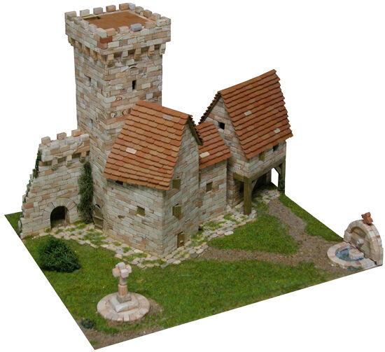 in cerca di agente di vendita Aedes 1256. 1256. 1256. Maqueta Torre Medieval. Construccion de ladrillos  colorways incredibili