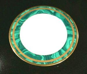 Beautiful-Christian-Dior-Gaudron-Malachite-Large-Rimmed-Soup-Bowl