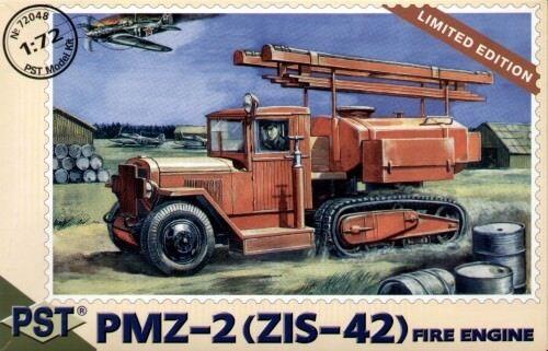 ZIS-42 PST 1//72 PMZ-2 fire engine nº 72048
