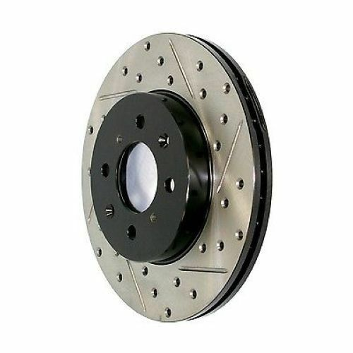 StopTech 127.39035L Front Disc Brake Rotor Drilled//Slotted For 04-07 Volvo S60
