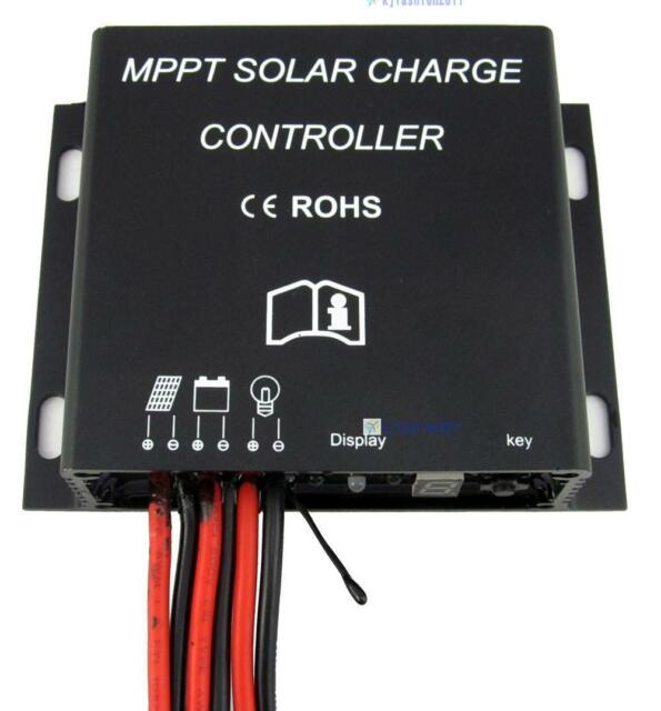 Waterproof 10/15A/20A 12/24V Streetlights MPPT Solar Panel Charge Controller TR