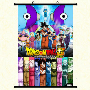 Dragon-Ball-Super-Wall-Scroll-Poster-Home-Decor-Art-Cos-Painting-Free-Shipping