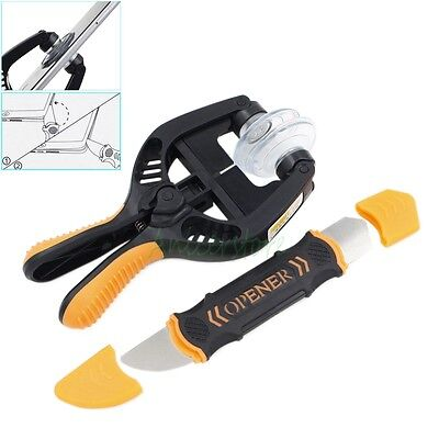 Elastic Spudger + Super Strong Suction Cup iPhone Screen LCD Opening Pliers Tool