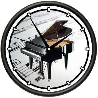 PIANO Wall Clock baby grand player music teacher gift