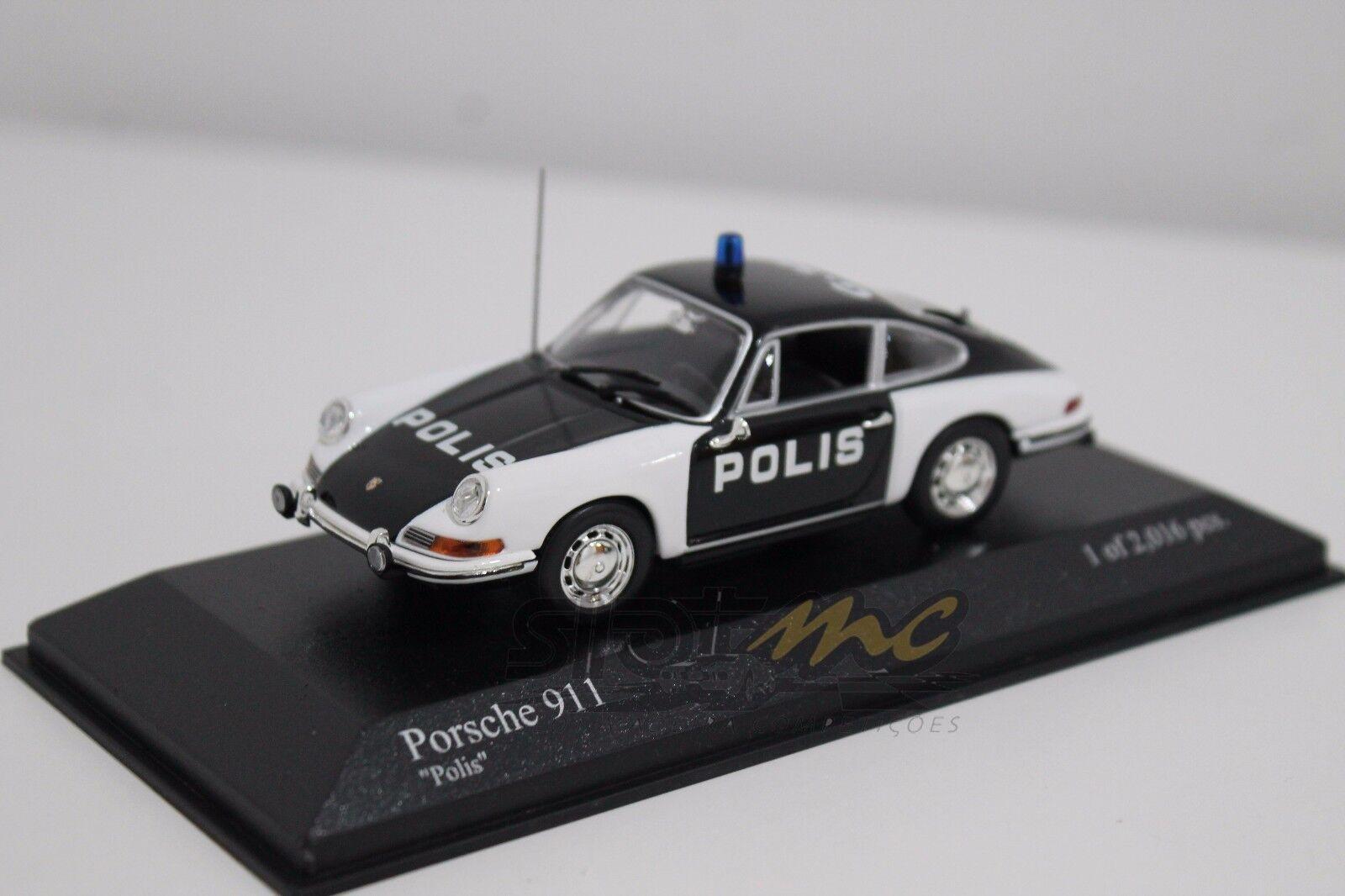 MINICHAMPS 430067190 Porsche 911 1970  Polis  1 43  NEW