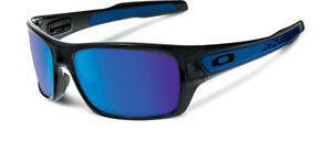 Oakley-Men-039-s-Turbine-OO9263-05-Iridium-Rectangular-Sunglasses-Black-Ink-65-mm