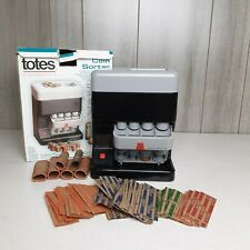 Totes Coin Sorter Automatically Sorts And Directs Up To 20 Coins Tested Works