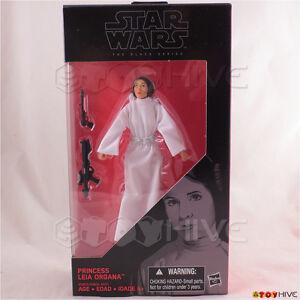 Star Wars The Black Series - Princesse Leia Organa # 30 Figurine d'action de 6 pouces 630509482658