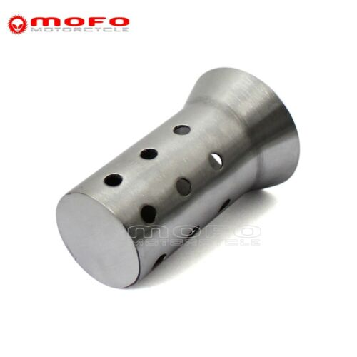 51mm 2/'/' Motorcycle Exhaust Pipe Can Muffler Insert Baffle DB Killer Silencer