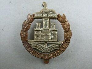 Military-Cap-Badge-Dorsetshire-Regiment-British-Army-Bi-Metal-Infantry