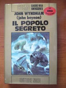 JOHN-WYNDHAM-IL-POPOLO-SEGRETO-ED-NORD-1976-COSMO-FANTASCIENZA-HERBERT-ASIMOV