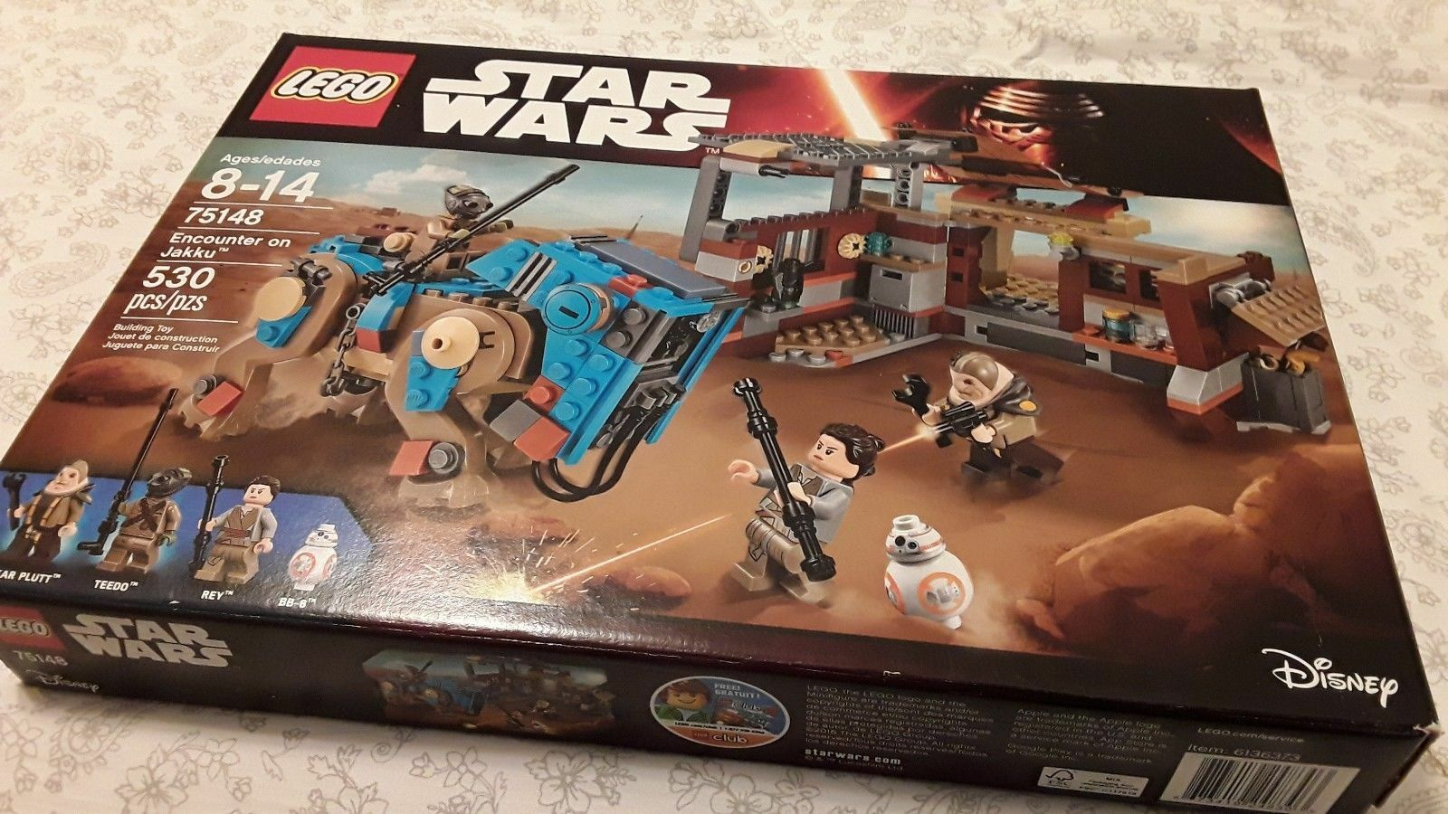 Lego Star Wars - 75148 Rencontre sur Jakku  nouvelle et scellée  2018 dernier