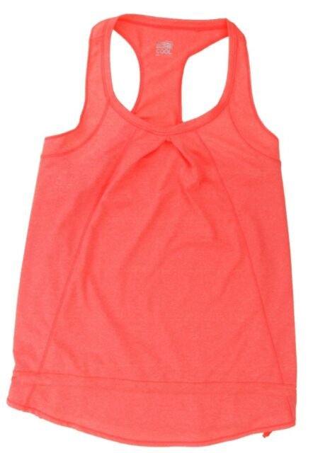 32 DEGREES COOL Ladies Round Neck T SHIRT Moisture Wicking Sport Top CORAL S-XL