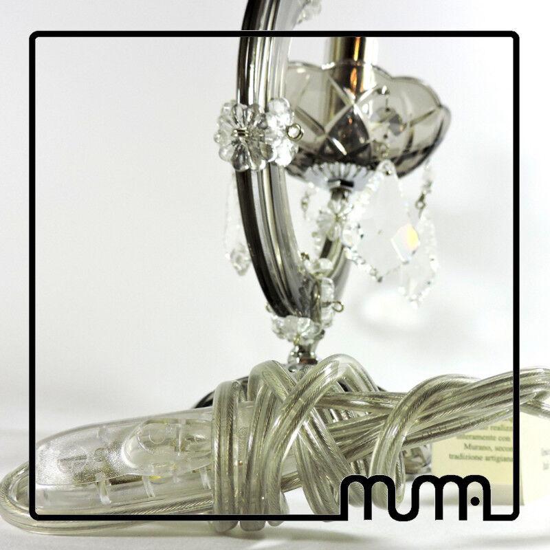 Abat jour, lampada in cristallo color color color fumè. Ottima qualità. Made in Italy! | Une Grande Variété De Modèles  b0f537